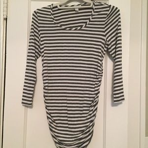 Pea in the Pod striped maternity tee